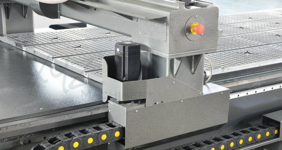 AC-Servomotor einer CNC Portalfräse