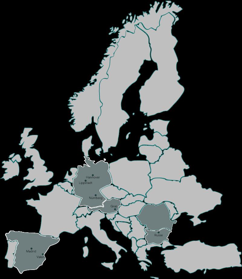 XYZcam Service Center Europa