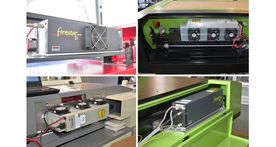 CO2-HF-Laser-Metall Röhren