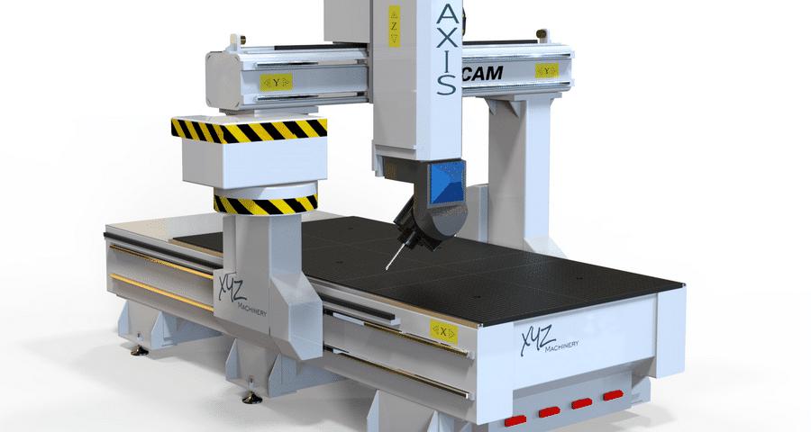 CNC Portalfräsmaschine mit 5 Achsen