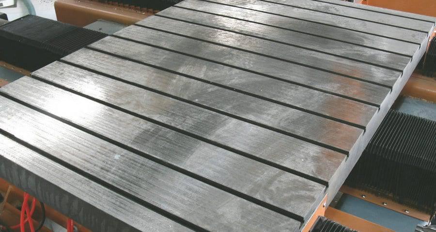 CNC Arbeitstisch aus Gusseisen oder Aluminium