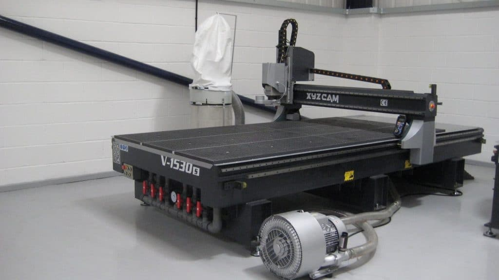 Portalfräsmaschine der Firma XYZ Machinery GmbH